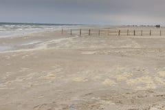 Sandy beach on Romo Island - Denmark Stock Photography