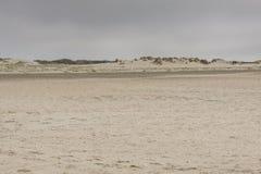 Sandy beach on Romo Island - Denmark Stock Image