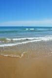 Sandy beach of Salou Stock Photography