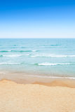 Sandy beach and sea Royalty Free Stock Photos