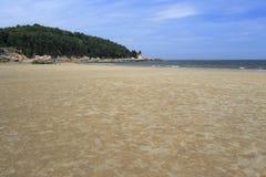 Sandy beach sea Royalty Free Stock Photo