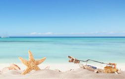 Sandy beach Royalty Free Stock Photos