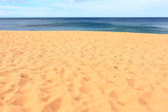 Sandy beach summer dreaming Stock Photography