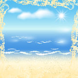 Sandy beach Royalty Free Stock Image