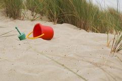 Sandy Beach Toys Stock Images