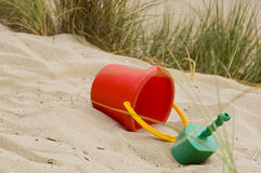 Sandy Beach Toys Royalty Free Stock Images