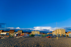 sandy beach, Tuscany Stock Images