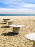 Sandy Beach Varna, Bulgarien Stockbilder