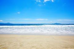 Sandy Beach, Waipu-Gebied, Northland, het Noordeneiland, NZ Royalty-vrije Stock Foto's