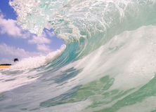 Sandy Beach Wave royalty free stock images