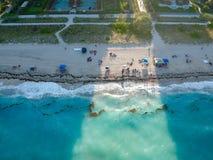 Sandy Beach stock foto's