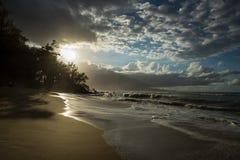 Sandy Beaches di Maui Hawai Fotografie Stock
