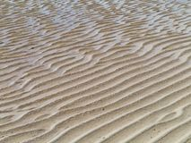 The sandy beaches of Fuerteventura at low tide Stock Photography