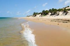 Sandy beaches in Kenya Royalty Free Stock Photos