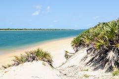 Sandy beaches in Kenya Stock Photography