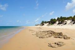 Sandy beaches in Kenya Stock Photo