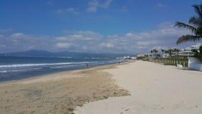 Sandy beaches of puerto vallarta mexico. Beach in puerto vallarta Royalty Free Stock Image