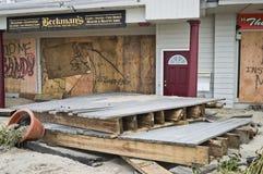 Sandy Boardwalk Business Stock Image