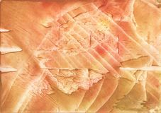 Sandy brown vague watercolor illustration Royalty Free Stock Images