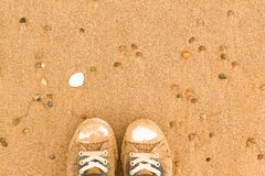 Sandy Chucks Royalty Free Stock Image