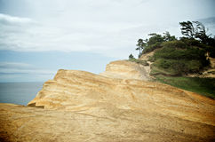 Sandy Cliffs Edge Imagen de archivo