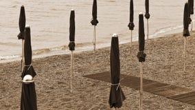 Sandy Coast of Minori Royalty Free Stock Images