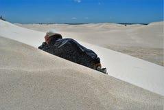 Sandy Day Royaltyfria Bilder