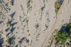 Sandy Desert Wash Stock Fotografie