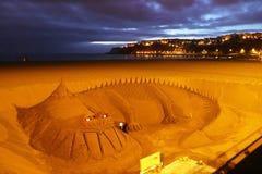 Sandy dragon Stock Image