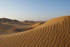 Sandy dune. A big sandy dune / Oman Stock Photos