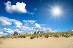 Sandy dunes Royalty Free Stock Photos