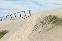 Sandy dunes, Curonian Spit , Lithuania. Stock Image