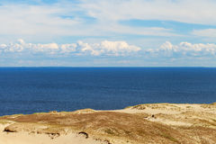 Sandy dunes, Curonian Spit , Lithuania. Stock Photos