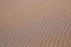 Sandy dunes in Moon Valley Stock Image