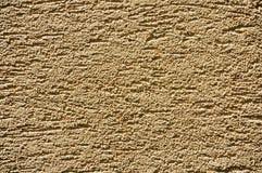 Sandy-gelbe Stuckbeschaffenheit Lizenzfreies Stockbild
