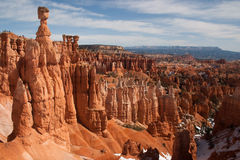 Sandy hoodoos in Bryce Canyon National Park, Utah, USA Royalty Free Stock Images