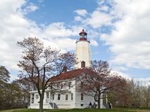Sandy Hook Lighthouse stock photo