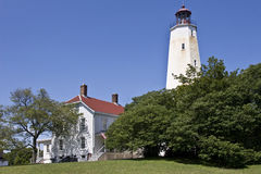 Sandy Hook Lighthouse, New Jersey Stock Photography