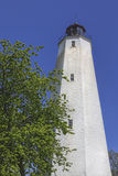 Sandy Hook Lighthouse, Vertical View Royalty Free Stock Photos