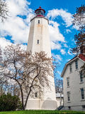 Sandy Hook Lighthouse View Royalty Free Stock Images