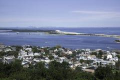 Sandy Hook View Imágenes de archivo libres de regalías