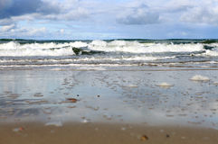 Sandy-Küste Lizenzfreie Stockfotografie
