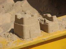 Sandy kasztel Zdjęcia Royalty Free