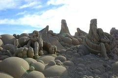 Sandy-Kunst Lizenzfreies Stockbild