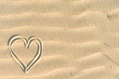 Sandy love Stock Photo