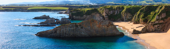 Sandy Mexota-Strand Spanien Lizenzfreies Stockbild