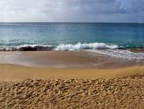sandy na plaży Zdjęcia Stock
