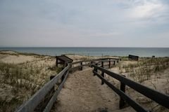 Sandy Neck Beach Arkivbilder