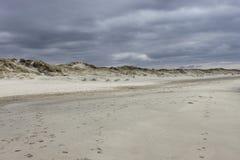 Sandy-Norwegerstrand Lizenzfreies Stockbild