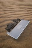 Sandy Notebook royalty free stock images